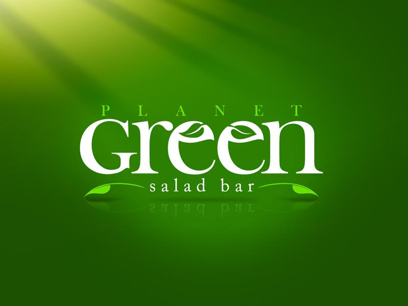 Logo Green Salad Bar by gustavitos