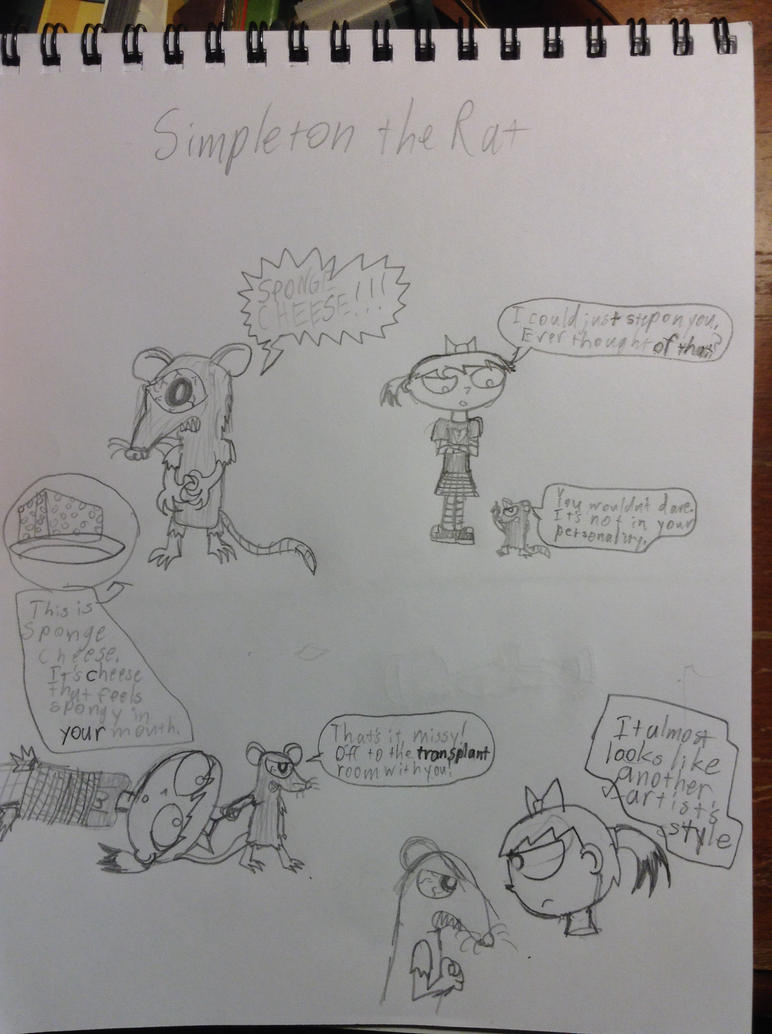 Simpleton the Rat (Better Version) by AssassinJ2