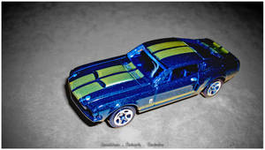 HOT WHEELS - '67 SHELBY GT500 by BlackMonk19