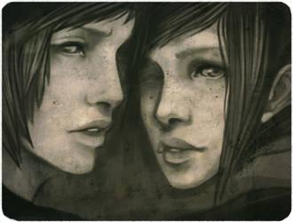 Twins by enmi
