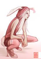 White Rabbit. by enmi