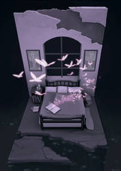 In the Bedroom by enmi