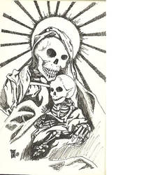 Madonna and Child by ignorant-art