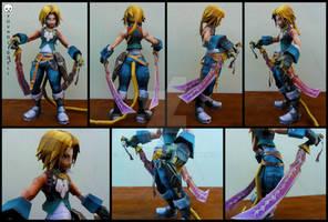 Final Fantasy Dissidia - Zidane Tribal Papercraft