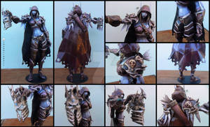 World of Warcraft - Sylvanas with Arthas Helmet