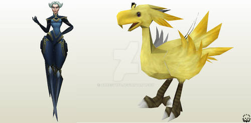 Camille LoL - Chocobo FF9 WIP!