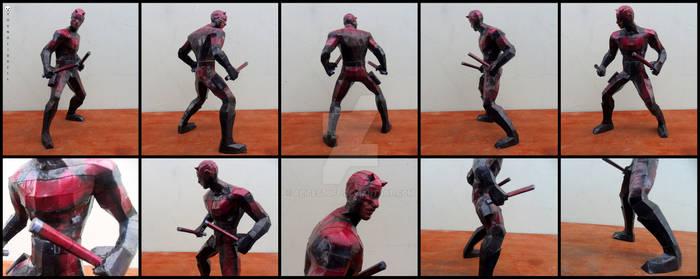 Marvel - Daredevil Papercraft