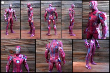 Marvel - Iron Man (Civil War) Papercraft