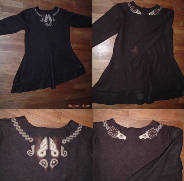 Tunic, wool by BraveAnimal