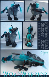 MLP Woadwarrior custom by BraveAnimal
