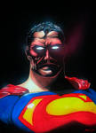 Superman -heat vision