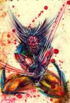 Wolverine in Blood