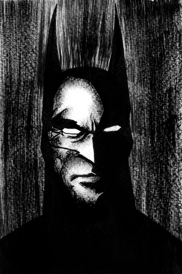 Batman Ink-4 by markhossain
