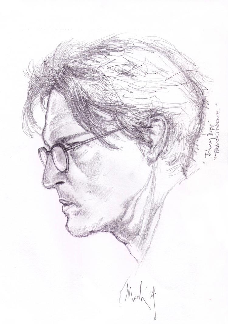 Johnny Depp Sketch by markhossain