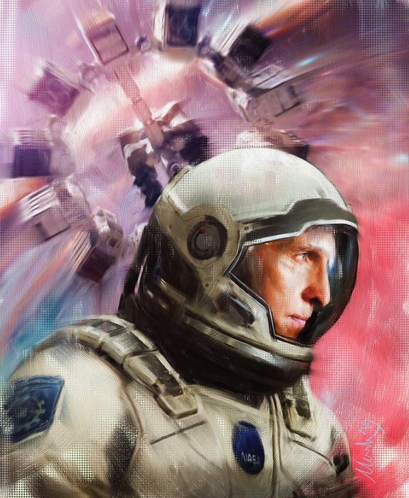 Interstellar-Cooper by markhossain