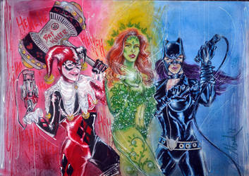 THE SIRENS Commission Piece