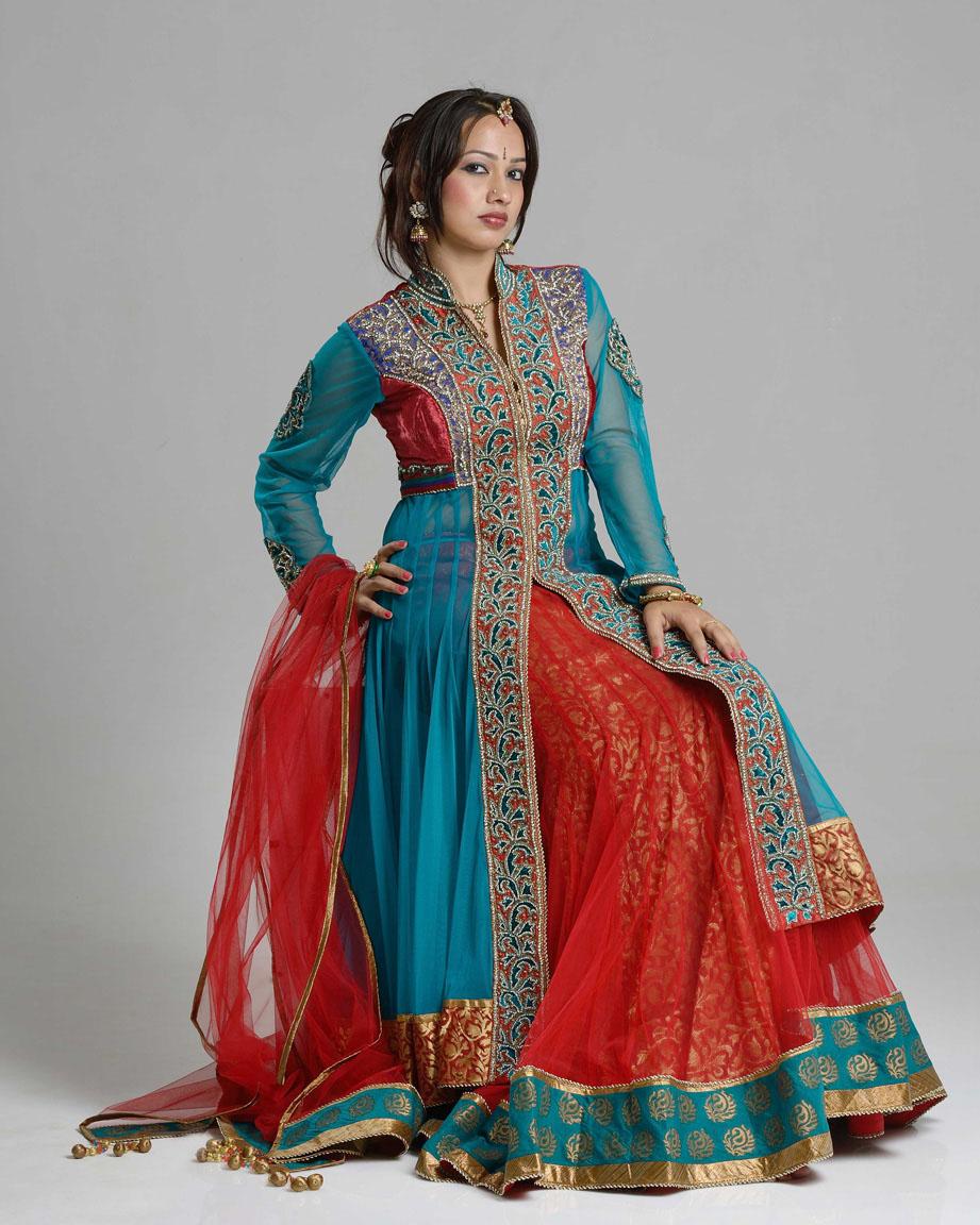 Ethnic Fashion Model By K V Bhat On Deviantart