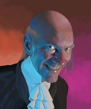 Self-Portrait as Uncle Creepy