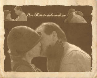 One Kiss to Take with me Bates and Anna