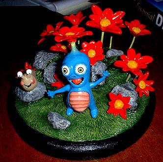 Flower Man by frankenspud