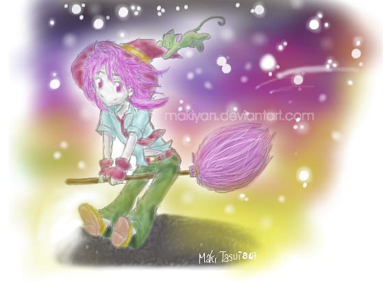 :: ride on shooting star by makiyan