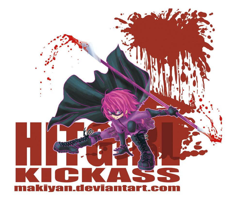i am HITGIRL by makiyan