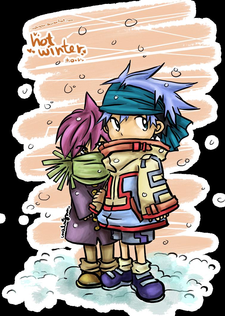 hot winter by makiyan