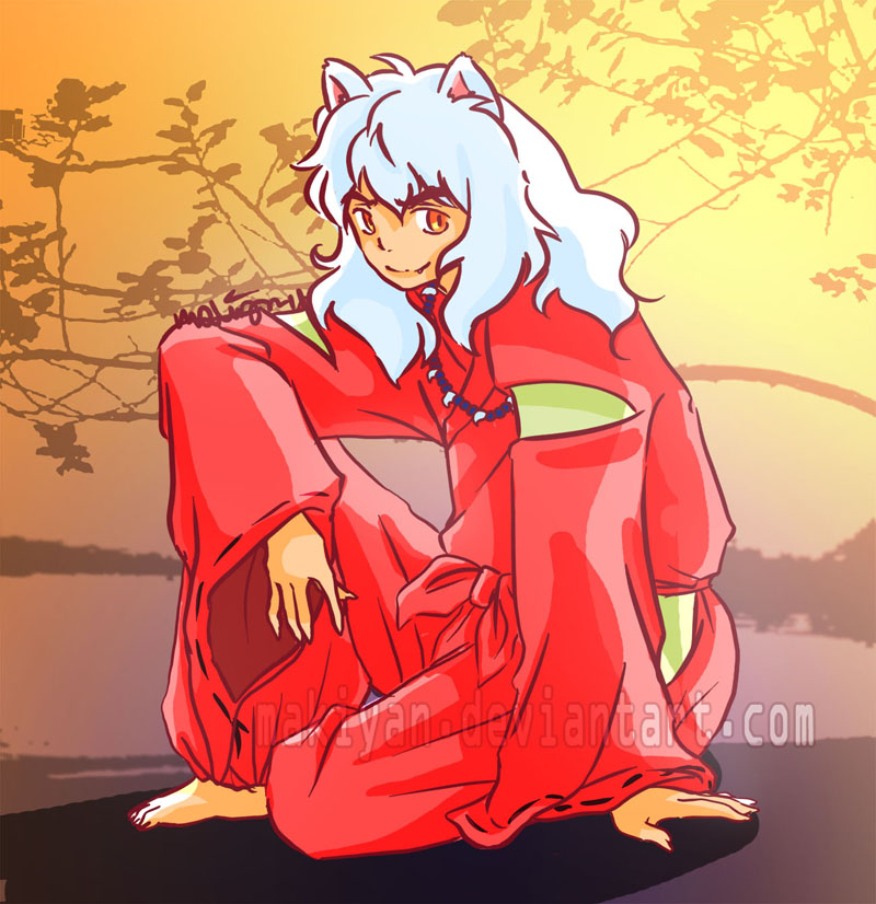 inuyasha :: by makiyan