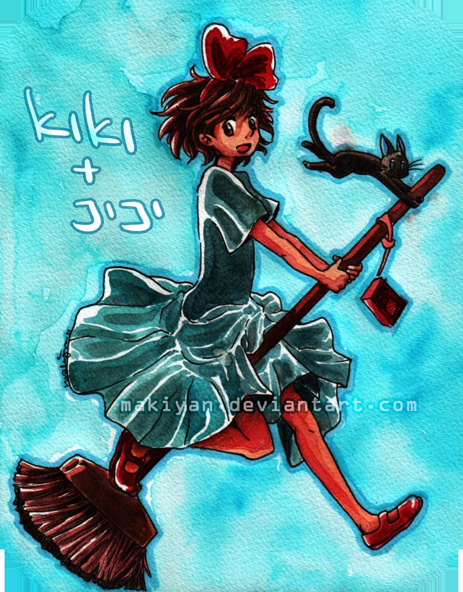 kiki + jiji :: by makiyan