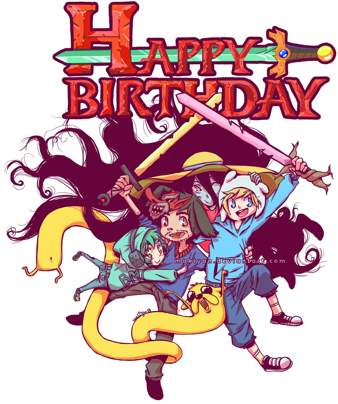 birthday time! :: by makiyan