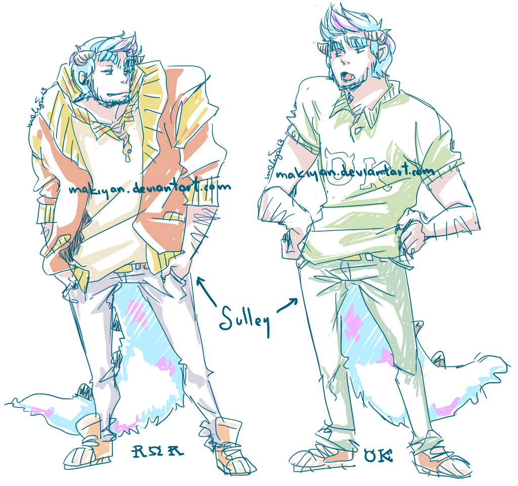 ROR vs OK :: by makiyan