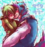 MU : cuddles