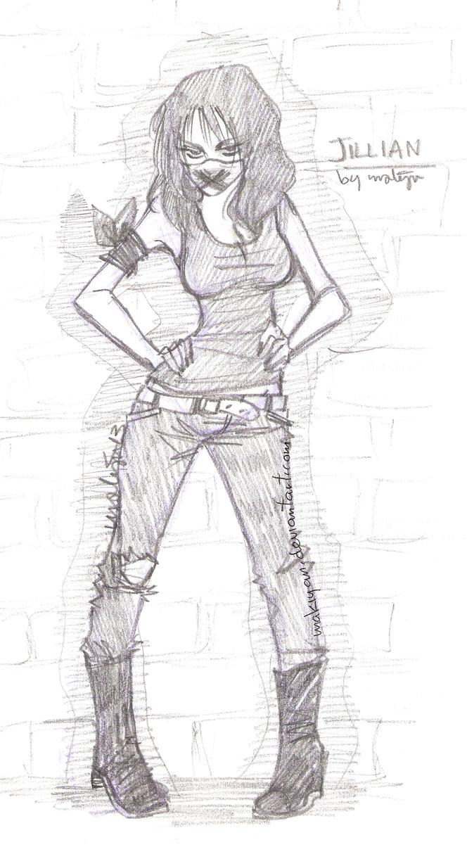 free sketch 5 :: by makiyan