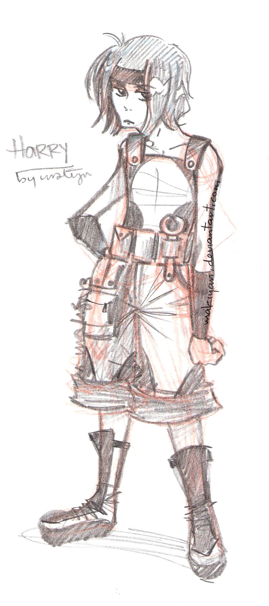 free sketch 3 :: by makiyan