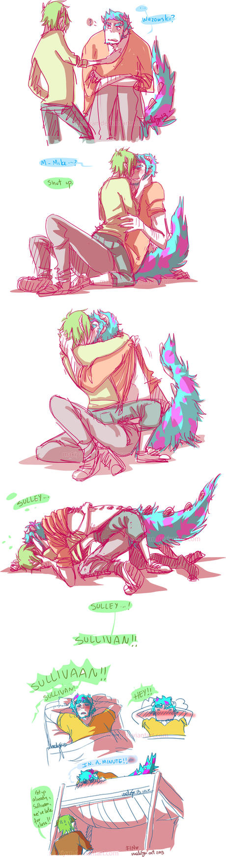 MU in which sulley cant get up right away D: by makiyan