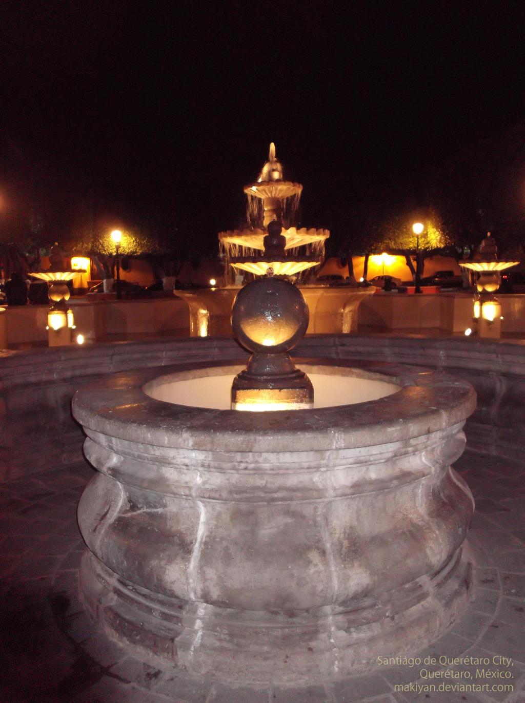 Queretaro city downtown jardin guerrero 1 by makiyan on for Jardin guerrero queretaro