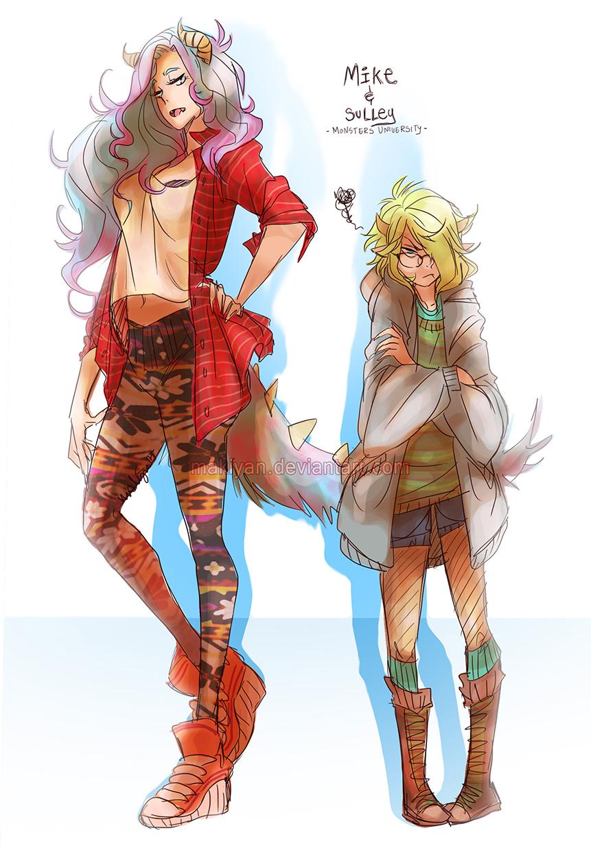 MU :: female version by makiyan