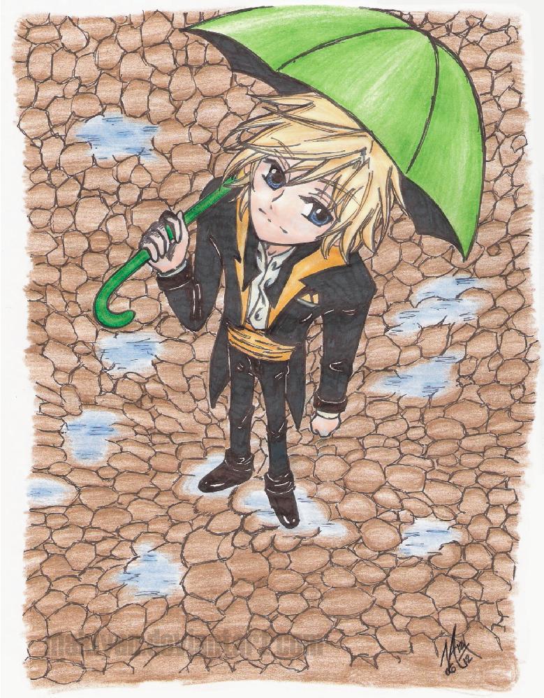 Parapluie by makiyan