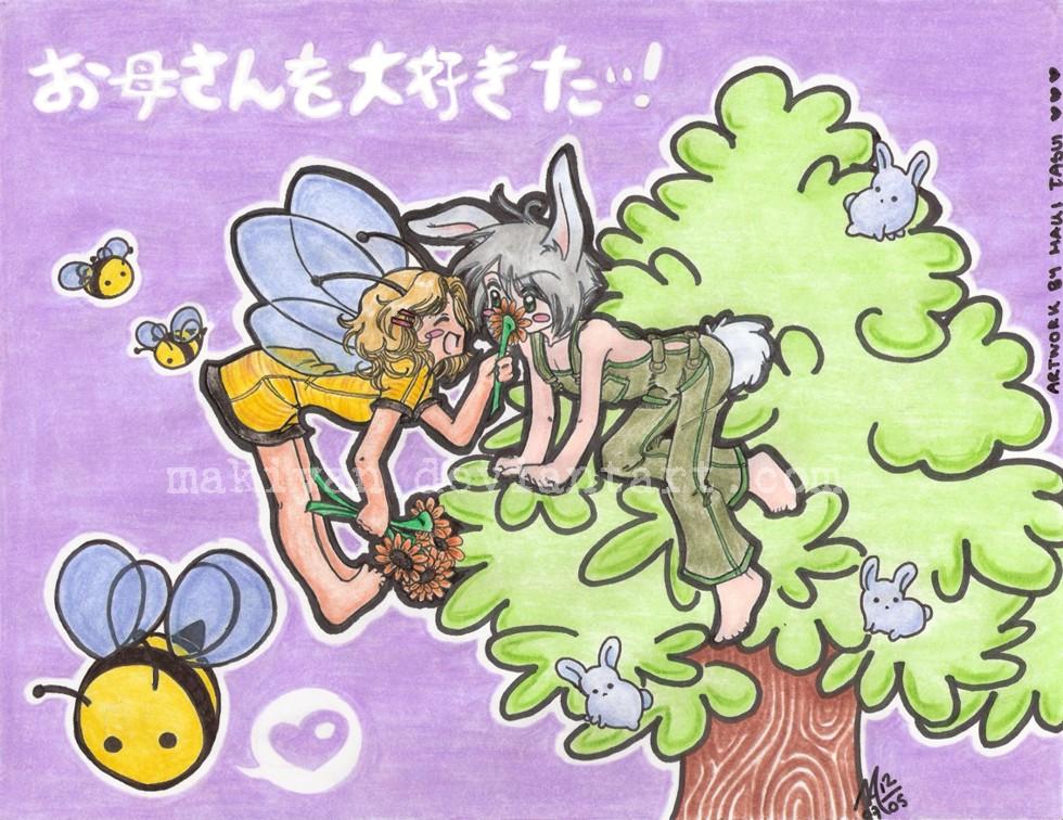 2b a Bee for Bunnie by makiyan