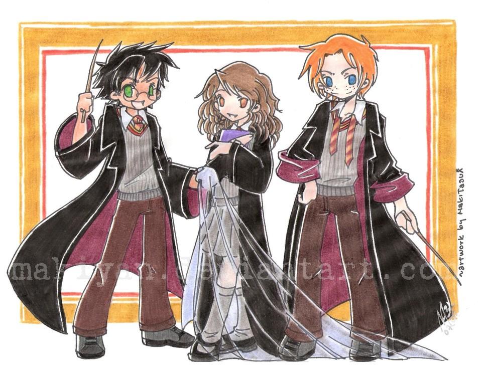 HP in pose by makiyan