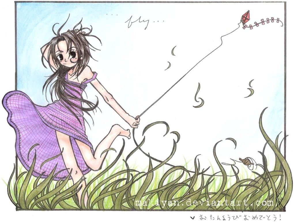fly... by makiyan