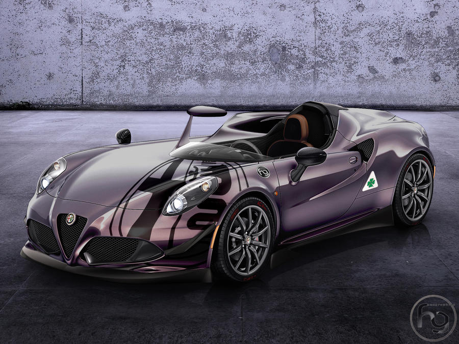 Alfa Romeo 4c Barchetta