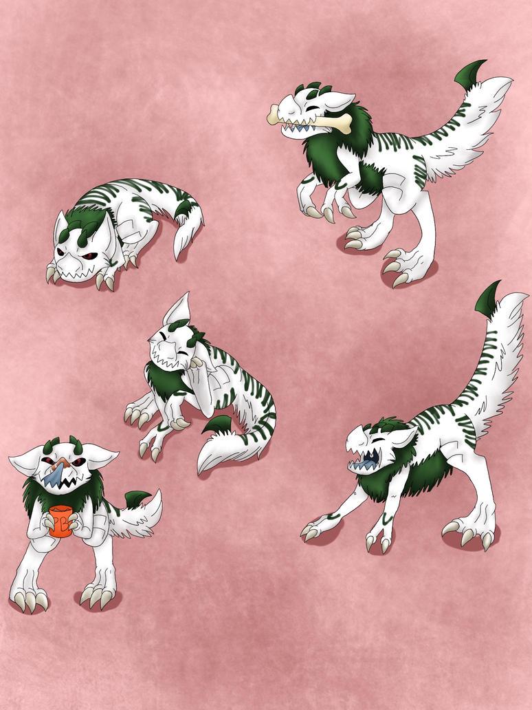 Cutie Dino by RyuKiraXKHX