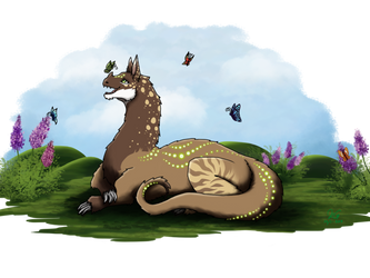 Arion in the butterfly field by Aliciatwistrose7913
