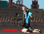 Subzero mk fatality by ShinigamiSenshi