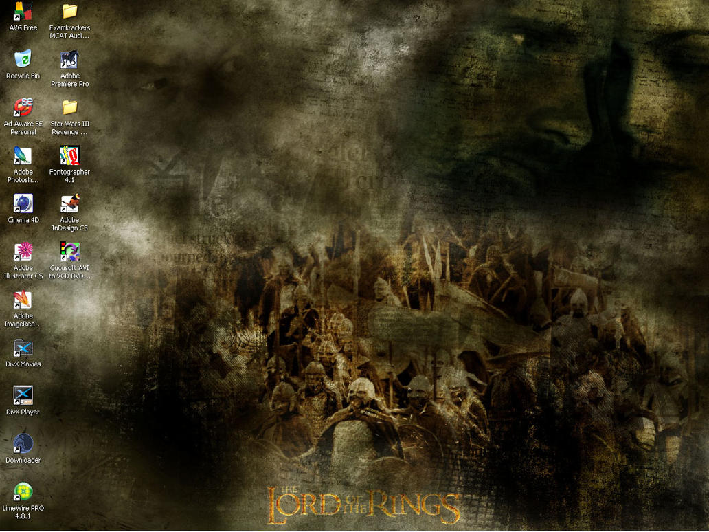 LOTR desktop by NewLine