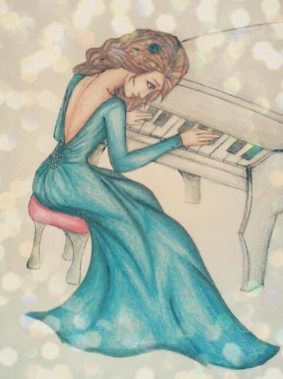 Piano by elannyml