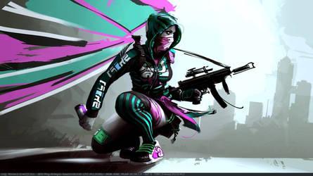 Scrotwm cyberpunk