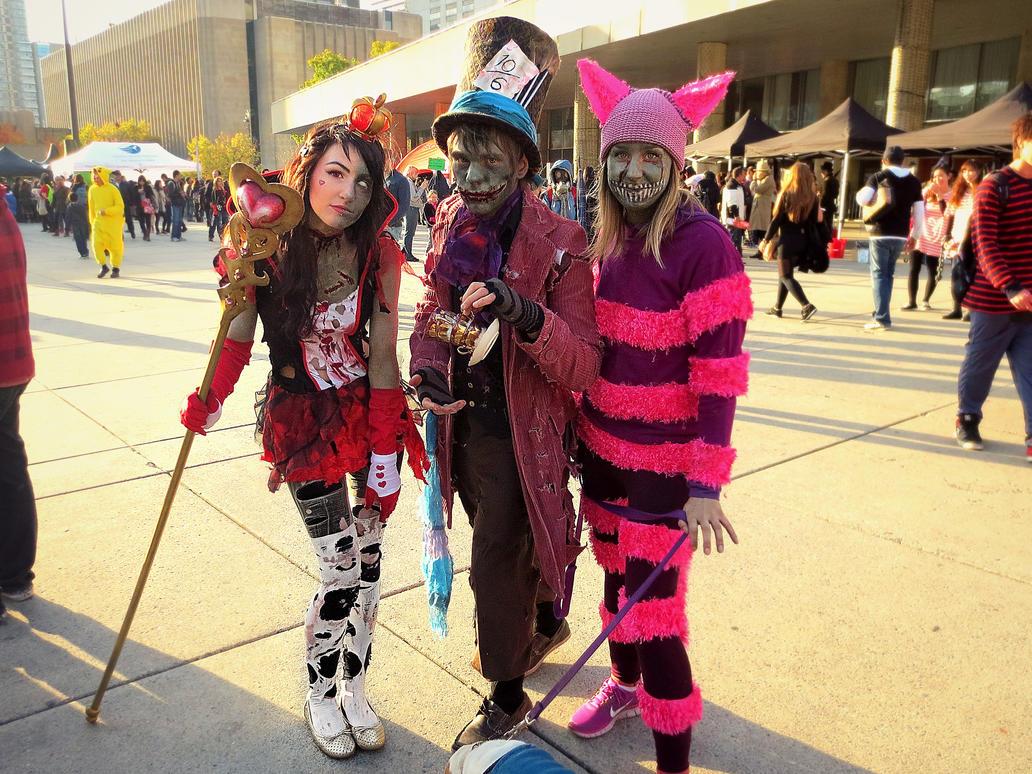 Alice in Wonderland Zombies by darkestcountryroad