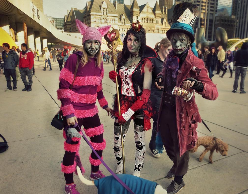 Alice's Zombies by darkestcountryroad